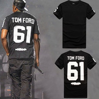 Wholesale ford numbers - 2014New men 3d tops Singing English Numbers 61TOM FORD print hip hop short sleeve 3D Galaxy cotton T shirts tops tees plus size