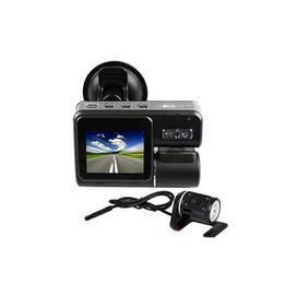 "Wholesale Dual Ir Camera Car Dvr - S5Q 120° 720P Car Dash Car DVR 2"" TFT HD DVR Dual Camera Cam Recorder IR Night Vision AAADKT"