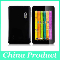 Wholesale 4.2 android tablets resale online - New inch A23 dual core dual camera tablet pc android RAM GB flash light camera Tablet PC