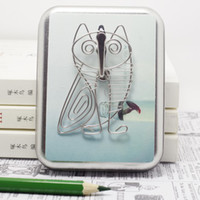 C8 OWL KÜHLSCHRANKMAGNET BIRD NOVELTY DECOR STAINLESS HAND-MADE KUNST-HÄNDLER HOCHZEITS-GEBURTSTAG HOME GARTEN-BÜRO GESCHENK GESCHENK KREATIVE NETTES