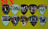 Wholesale printed guitar picks online - of D One Direction Medium mm sides Printing Guitar Picks Plectrums