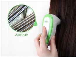 Wholesale Usb Hair Scope - Promotion DHL Free HOT SALE 5.0 MP High Resolution Digital CCD USB Hair Camera Hairscope Hair Analyzer Hair Scope Hair Diagnosis