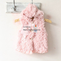 Wholesale Kids Winter Vest Children Hooded - Kids Waistcoat Winter Coat Children Clothing Girl Vest Winter Waistcoat Fashion Sleeveless Coat Warm Vests Baby Clothes Girls Cute Waistcoat