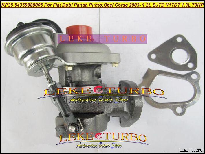 KP35 54359700005 54359880005 73501344 Turbo Turbocompressore FIAT Dobl Panda Punto / OPEL Corsa 2003- Motore SJTD Y17DT 1.2L 1.3L 70HP