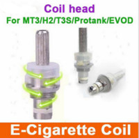 Wholesale Clearomizer H3 - Replaceable heating coil head for EVOD GS-H2 GS-H3 GS-H5 Atomizer Clearomizer 2.4ohm Detachable electronic cigarette Coil head