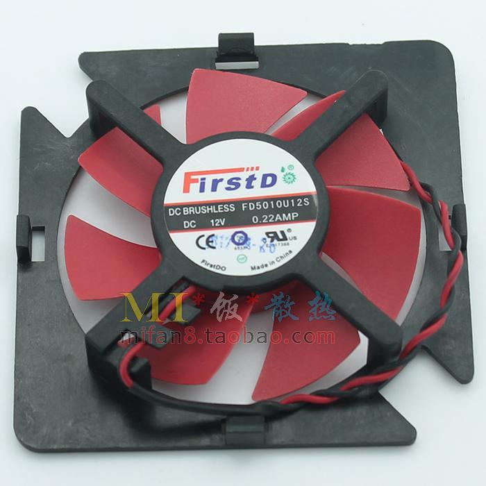 Original FirstDo FD5010U12S 12V 0.22AMP för ATI AMD Graphics Card Fan