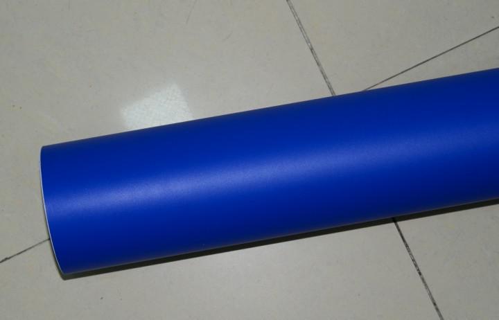 أزرق داكن ماتي الفينيل السيارات التفاف احباط مع فقاعة الهواء مجانا ملصقات السيارات فيديكس شحن مجاني الحجم: 1.52 * 30 متر / لفة