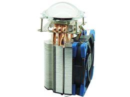 Wholesale Led Diy Heatsink - Cooling Fan Heat Sink Heatsink + Lens + Lens holder Kit For 100W 120W 150W High Power LED Light DIY