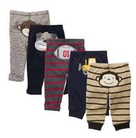 Hot selling Hot Sale Baby Boys Pants 100% Cotton Newborn PP Pant Children's trousers Retail