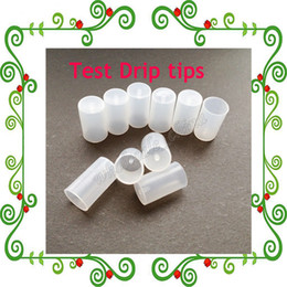 Wholesale Disposable E Cig Sale - HOT Sale Test Drip Tips Caps Disposable Tips Plastic Atomizer Cover for eGo CE4 CE5 CE6 Clearomizer Atomizer Cap For E Cig Electronic Cigar
