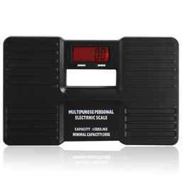 Wholesale Electronic Body Weight Scale - 150kg x 0.1kg Multipurpose Mini Digital Portable Body Health Electronic Scale & Weight Measuring & LCD Display ,Free shipping! HOA_425