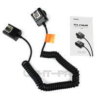 Wholesale Ttl Flash Cord - High Quality GODOX TL-C TTL Off-Camera Flash Sync Cord Cable For Canon Camera DSLR