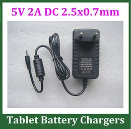 10 adet 5 V 2A Güç Adaptörü DC 2.5mm Şarj Android Tablet PC için Q88 Ramos W17 Pro Chuwi V88 Çocuklar Tablet Nabi 2 II NABI2 Güç Kaynağı AB ABD nereden toptan güç şeritleri tedarikçiler