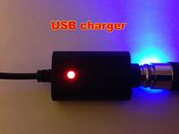 ingrosso corredo elettronico di avviamento per spinner per sigarette-eGo USB Cable Charger per batteria eGo Sigaretta elettronica E-sigaretta eGo-T eGo Starter Kit eGo EVOD eGo-C Twist Vision Spinner 2 Batteria