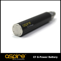 Wholesale Power Ego - Wholesale - Newest E CIG Eigate Aspire Developed technology Original Aspire popular CF G-Power Battery 1600mah ego Battery Free Shipping