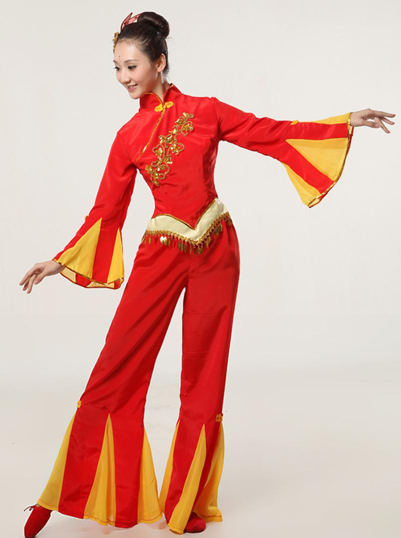 Square Dance Costumes Contemporary Dance Performance Clothing Female Clothing Younger Drum Dance Costume National Costume Stage Women / Ladies Boutique .  sc 1 st  DHgate.com & Square Dance Costumes Contemporary Dance Performance Clothing Female ...