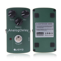 Wholesale Analog Guitar Effects - Electronic 2014 New Joyo JF-33 Analog Delay Electric Violao Guitarra Guitar Effect Pedal True Bypass Musical Instrument Parts I293