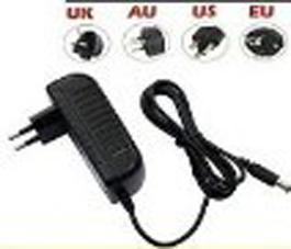 best selling 100 Piece 2A 24W Power Supply Transformer Converter Adapter AC 100-240V To DC 12V for Led Strip Lights Strips US plug EU AU plug By DHL