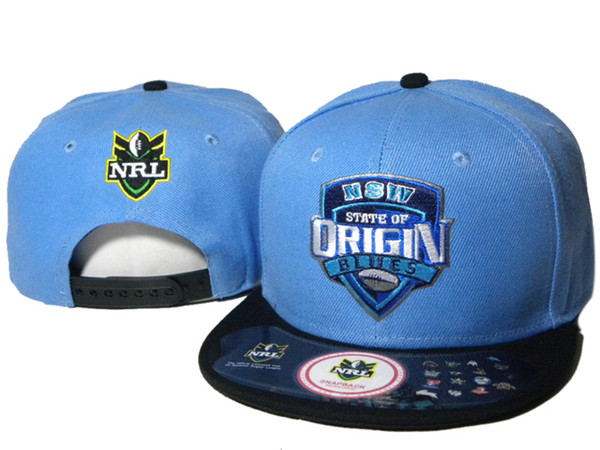 Hot Sale NRL Snapbacks State of origin NSW BLUES Snapback Best Quality Sports Caps New Arrival Sun Hats Cheap Snap Back Hats Hot Sale DDMY