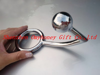 Wholesale Stainless Steel Vagina Balls - Wholesale - New Stainless Steel Anal Sex Toys Anal Plug Hook with ball & ring, Butt Plug Vagina Toys ; bondage chastity devices; SM396
