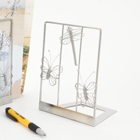 I1 / I2 BUGS FIORI BOOKEND BOOKSTAND DESK STUDIO NOVITÀ INOX MASCHIO ART CRAFTS WEDDING BIRTHDAY HOME GIARDINO UFFICIO REGALO PRESENTE CUTE