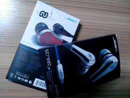 Wholesale Dhl Sms Street - Excellent Mini 50 cent with mic and mute button SMS Audio 50 cent In-Ear headphones earphone STREET by 50 Cent in stock DHL Free