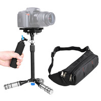 dslr el sabitleyici toptan satış-Taşınabilir Mini Boyutu DSLR Handy Steadycam El Tripod Video Kamera hafif Profesyonel Sabitleyici Kiti kakacola mağaza