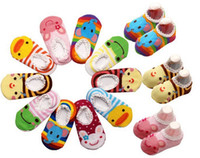 Wholesale Cute Socks Price - Best Price ! 2014 baby cute cotton and edge lace sock baby anti-skidding socks
