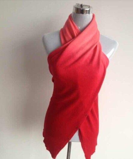 Multi Purpose Knited Crochet Cashmere Känsla Arcylic Magic Scarf Cardigan Shawl Wrap Neck Warmer 160 * 48cm # 3640
