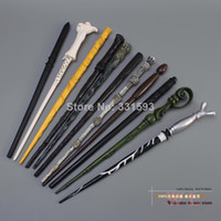 Wholesale 11pcs Hot Harry Potter Dumbledore Hermione Snape Sirius Black Lord Voldemort Ron Weasley Magical Wand HPFG017