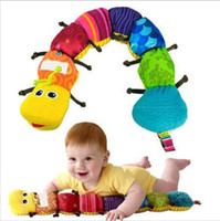 Wholesale New Popular and Colorful Musical Inchworm Soft Lovely Developmental Baby Toy