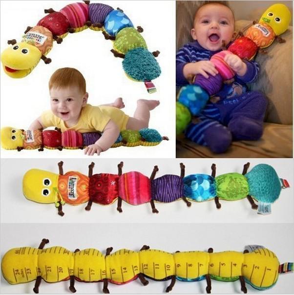Yeni Popüler ve Renkli Müzik Inchworm Yumuşak Güzel Gelişim Bebek Oyuncak