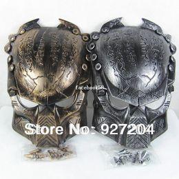 Wholesale Alien Vs Predator Mask - 2014 New Colors Iron Man Style AVP Costume Masks Supper Replica Alien Vs Predator Mask Warrior Movie Prop AVPR Soldier