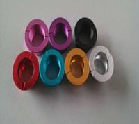 ingrosso e sigarette vivi nova serbatoi-Alluminio Ego Connector Ring per Protank DCT Serbatoio eGo Atomizzatore E Sigaretta Clearomizer Ego t Adattatore per batteria Ring per vivi nova Protank 2