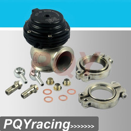 Wholesale Flange Valve - J2 Racing Store- TIAL MVS 38mm BLACK WASTEGATE WITH V-BAND AND FLANGES MV-S