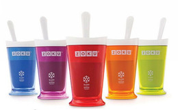Wholesale cream makers - ZOKU Slush Shake Maker ,The authentic Home-made ice Cream Tools, ice cream cup, creative cup. 10pcs free shipping