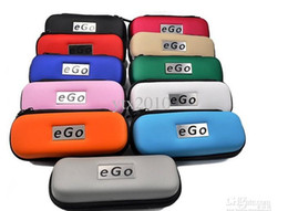 Wholesale E Cig Ego T Ce5 - EGO Electronic cigarette Zipper box case bag package with Zipper carrying for E cig Joye eGo-T ego--tank E-cigarette ce4 ce5