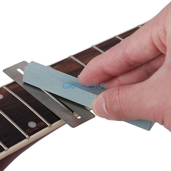 2019 kavaborg fret sanding fit all guitar bass frets neck polish luthier from gracebuy. Black Bedroom Furniture Sets. Home Design Ideas