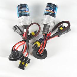 Wholesale Hid H1 Bulbs - 35W AC xenon bulbs 9005 9006 H1 H3 H7 H11 H10 D2S H16 HB3 HB4 H27 880 881 D2C HID Xenon Car Headlight Bulbs lamps