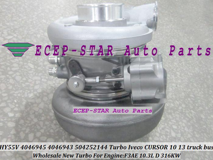 HY55V 4046945 4046940 4046943 504252144 Turbo Turbine Turbocharger For IVECO CURSOR 10 Truck Bus Engine F3AE 10.3L D 316KW