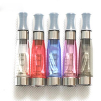 Wholesale Smoking Vaporizers Wholesale - Color ce4 atomizer e cigarette Clearomizer Free Smoke E Cigarettes CE4 Cartomizers Electronic Cigarettes E cigarette Ce4 vaporizers DHL Free