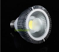 e27 scheinwerfer großhandel-Großhandel preis High Power E27 Par30 15 Watt COB LED Scheinwerfer Flutlicht Lampe Lampe 120 Grad AC 85-265 V