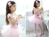 Wholesale Girls Dance Costume Dress Sequin - ballet dance costume for kids cotton ballet dress sequin shoes print costume paillette dancing children girls kids tutu certified by CTI-USA