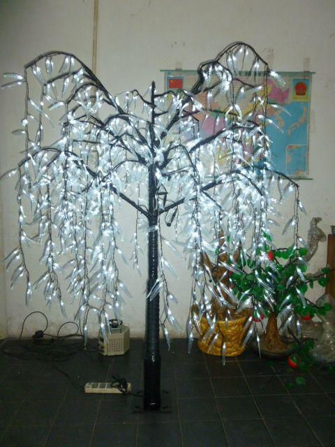 Led Willow Tree Light Christmas Tree 1 Led Bulbs 1 8m