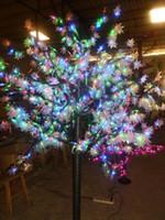 árvore de bordo do natal venda por atacado-648 LEDs 5ft Altura LEVOU Árvore de Bordo LEVOU Luz Da Árvore de Natal À Prova D 'Água 110/220 VAC Cor RGB Uso Ao Ar Livre Frete Grátis Transporte da gota