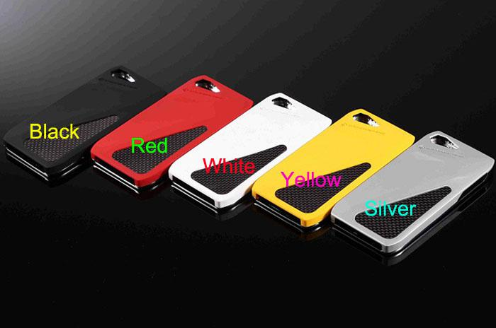 Newest Casemachine sesto case cover carbon fiber skin Imitation car metal cover case for iPhone6 4.7inch iPhone 6 i6 5g 5s