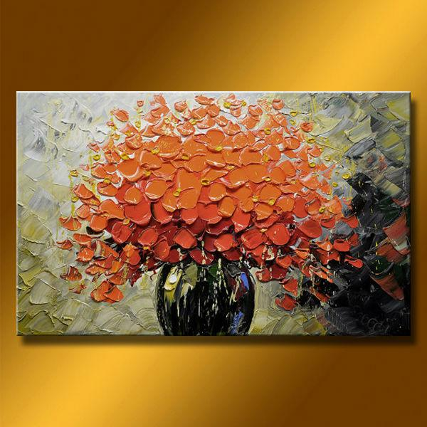 2018 Hot Modern Abstract Texture Palette Knife Artwork Oil Paintings
