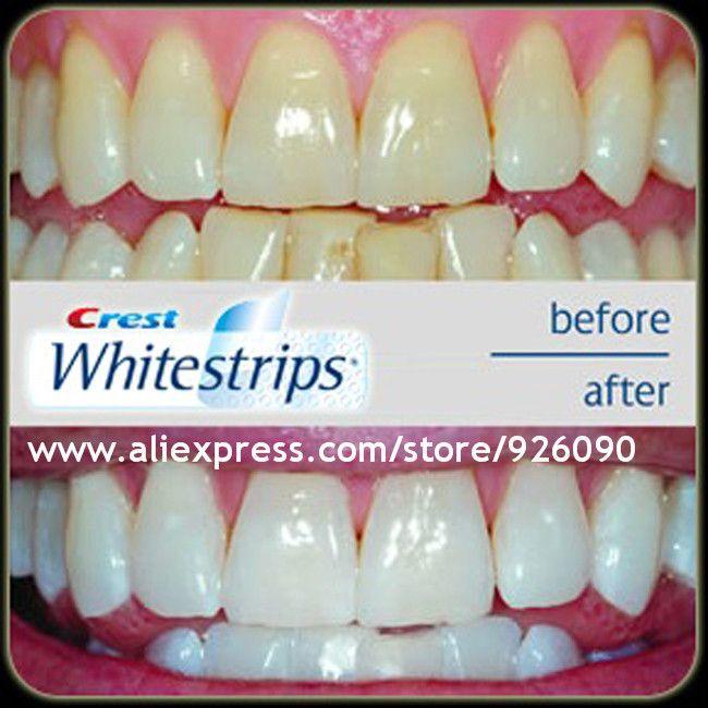 Usa Origin 2013 Crest 3d Teeth Whitening Strips 5 Minutes One Day