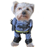 black cat spiderman costume - Superman Spiderman Batman Small Pet Dogs Cats Clothes Puppy Pup Hero Costume Funny Party Cosplay Dress Dog Apparel Dog Supplies Dog Apparel