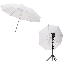 Wholesale Soft Umbrellas - 33in 83cm Photo Studio Flash Translucent Soft Umbrella White D1138